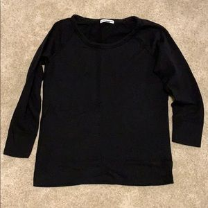 James Perse 3/4 sleeve sweater, new